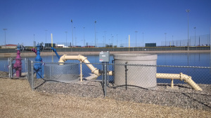 Ball Park Reservoir And Remediated Water Line Discharge System